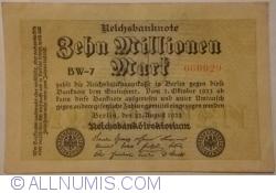 10 Milioane (10 000 000) Mărci 1923 (22. VIII.) - 5
