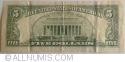 Image #2 of 5 Dollars 1995 - L