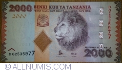 Image #1 of 2000 Shillings ND (2010)
