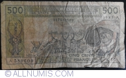 Image #1 of 500 Francs 1985 A