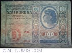 Image #2 of 100 Kronen 1912 (2. I.)
