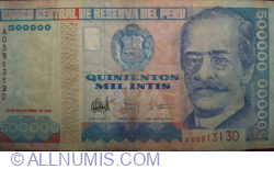 500,000 Intis 1988 (21. XI.)