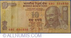 Imaginea #1 a 10 Rupees 2006 - L