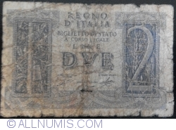 Image #1 of 2 Lire 1939 (14. XI.)