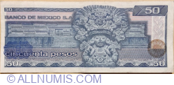 Image #2 of 50 Pesos 1981 (27. I.) - Serie KS