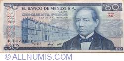 Image #1 of 50 Pesos 1981 (27. I.) - Serie KS