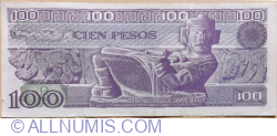 100 Pesos 1981 (3 .IX.) - Serie UJ