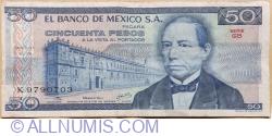 Image #1 of 50 Pesos 1978 (5 .VII) - Serie GB
