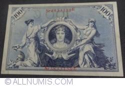 Image #2 of 100 Mark 1908 (7. II.) - C
