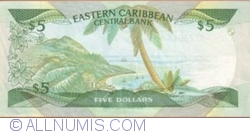 Image #2 of 5 Dollars ND (1986-1993)