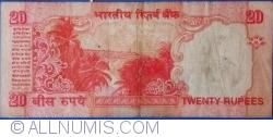 Image #2 of 20 Rupees ND (2002) R - signature Dr. Bimal Jalan (88)