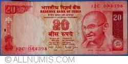 Image #1 of 20 Rupees ND (2002) R - signature Dr. Bimal Jalan (88)