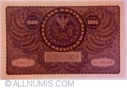 1000 Marek 1919 (23. VIII.) - SERIA I (1)