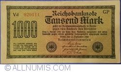 Image #1 of 1000 Mark 1922 (15. IX.) - 4