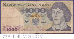 Image #1 of 1 000 Zlotych 1975 (2. VII.)