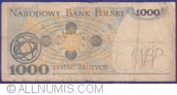Image #2 of 1 000 Zlotych 1975 (2. VII.)
