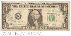 1 Dolar 1981A - K