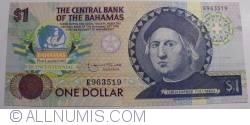 Image #1 of 1 Dollar ND (1992)