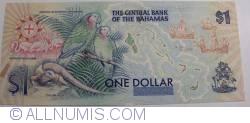 Imaginea #2 a 1 Dolar ND (1992)