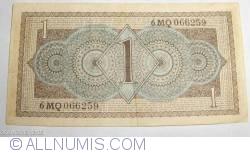 Image #2 of 1 Gulden 1949 (8. VIII.)