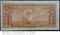 Image #2 of 1 Peso L.1939  - Serie B