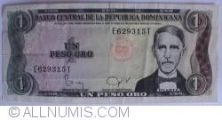 Imaginea #1 a 1 Peso Oro 1978