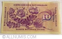 Image #2 of 10 Franken 1970 (5. I.) - signatures Rudolf Aebersold/ De. Brenno Galli/ Alexandre Hay
