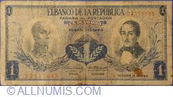 Imaginea #1 a 1 Peso 1964 (12. X.)