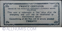 Image #2 of 20 Centavos 1943