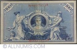 Image #2 of 100 Mark 1908 (7. II.) - J