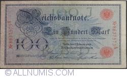 Image #1 of 100 Mark 1908 (7. II.) - J