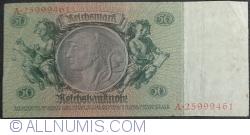 50 Reichsmark 1933 (30. III.) - L (serie cu 8 cifre)