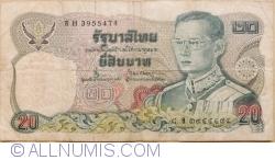 Image #1 of 20 Baht BE 2524 (1981) - signatures Bodee Junnanon / Rerngchai Marakanond (66)
