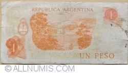 Imaginea #2 a 1 Peso ND (1970-1973) - semnături Rodolfo A. Mancini  / Carlos S. Brignone