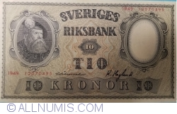 Image #1 of 10 Kronor 1949