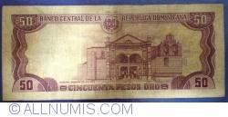 Imaginea #2 a 50 Pesos Oro 1991