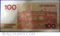 Image #2 of 100 Francs ND(1986)