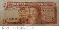 Image #1 of 1 Pound 1983 (10. XI.)