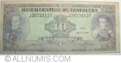 Imaginea #1 a 10 Bolivares 1990 (31. V.)