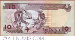 Image #2 of 10 Dollars ND (2006)