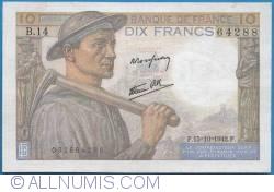 Imaginea #1 a 10 Franci 1942 (15. X.)