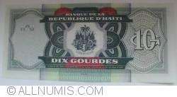 10 Gourdes 2004