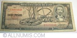 Image #1 of 10 Pesos 1956
