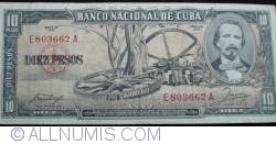 Image #1 of 10 Pesos 1958
