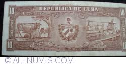 Image #2 of 10 Pesos 1958