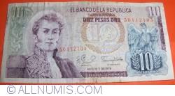 Image #1 of 10 Pesos Oro 1979 (7. VIII.)