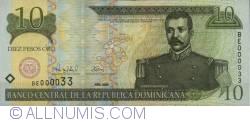 Imaginea #1 a 10 Pesos Oro 2000 - 1