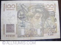 Image #1 of 100 Francs 1953 (4. VI.)