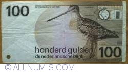 Imaginea #2 a 100 Gulden 1977 (28. VII.) (1981)