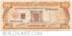 100 Peso Oro 1991